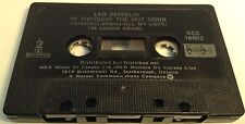 LED ZEPPELIN Tape Cassette IN TROUGH THE OUT DOOR