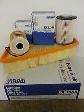 Ford Mondeo MK4 2.0 TDCi Oil Air Fuel Filter Service Kit Genuine MAHLE 2007-2010