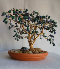WIRE TREE HOME DECOR METAL US ARTIST BRASS SCULPTURE  BONSAI DOGWOOD NATURE