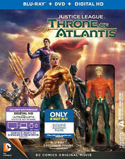 Justice League: Throne of Atlantis (Blu-ray/DVD, 2015, Figurine Only  Best Buy)