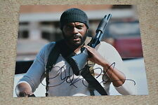 CHAD COLEMAN signed Autogramm 20x25 cm In Person WALKING DEAD Tyreese