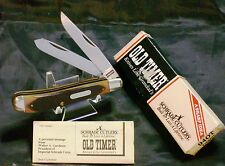 Schrade 94OT Knife Old Timer Delrin Trapper New/Old Stock USA Made & Packaging