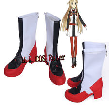 Newest Sword Art Online Ordinal Scale Yuuki Asuna Cosplay Shoes Boots Customize