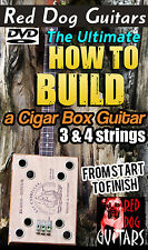 How to Build Cigar Box Guitar DVD Make your own 3 & 4 string Blues Gitarren