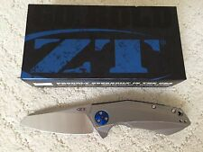 New Zero Tolerance ZT 0456 Sinkevich KVT Manual Folding Knife CTS-204P Steel