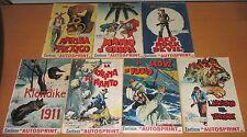 Lotto 7 numeri Albi dell'Intrepido  n. 870 / 878 - Anno 1962