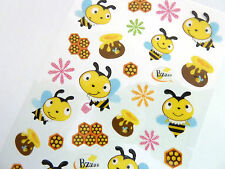 Bumble Bee Stickers for Kids, Children PVC14, Fun Labels for Party Bags, Craft