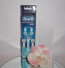 5 Pack Oral-B Floss Action Replacement Tooth Brush Heads Toothbrush Refills
