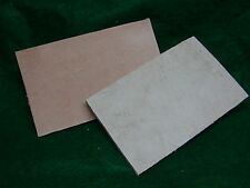 Leather Vise Jaw Pads 4x6.5 Non-Marring Gunsmith,Musical Instruments,etc 2 ea.