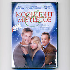 Moonlight & Mistletoe Hallmark family comedy Christmas TV movie, new DVD Arnold
