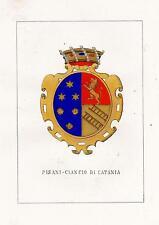 Araldica Stemma araldico della famiglia Pisani-Ciancio di Catania