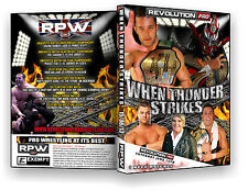 Official RPW - When Thunder Strikes 2013 Event DVD (Devitt, Liger, Cabana)