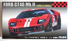 FUJIMI RS-51 1/24 Ford GT40 Mk.II 1966 Le Mans 24H red color scale model kit