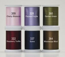 KIMONO SILK THREAD- HAPPY TRAILS SET, 6 Spools 100wt Silk From Superior Thread