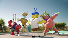 "002 The SpongeBob Movie Sponge Out of Water - 2015 Movie Film 25""x14"" Poster"