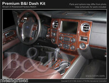 WOOD GRAIN DASH KIT FOR FORD EXPEDITION FITS (WITHOUT OEM WOOD)