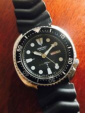 Vintage Original Seiko Turtle 6309 7040 Automatic Dive Watch, Running