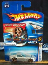 HOT WHEELS 2005 FE #16 -3 FORD SHELBY GR-1 CONCEPT UN-PTD BAS GRY INTR FTE 06C