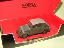 CITROEN 2CV PROTOTYPE Vert 1939 NOREV ligne noir défaut pneu craquelée