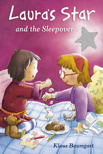 New Laura's Star and the sleepover - Klaus Baumgart girl's chapter book