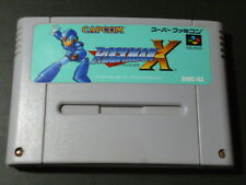 178 ROCKMAN X MEGAMAN JAPAN SNES Nintendo Super Famicom Japanese Free Ship Used