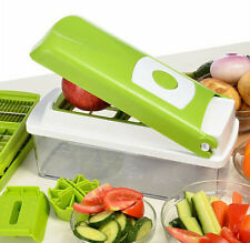 12PC Super Slicer Plus Vegetable Fruit Peeler Chopper Cutter Grater Nicer Dicer