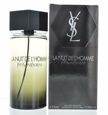 L'Homme La nuit Yves Saint Laurent Men 6.7 oz 200ml Eau De Toilette Spray Sealed