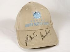 GARY PLAYER - BEN CRENSHAW - Autographed Golf Hat - Callaway Signed Seattle Open
