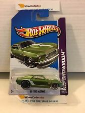 '69 Ford Mustang #232 * GREEN * 2013 Hot Wheels * H38
