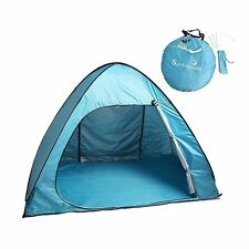 Pop Up Tent, Sunba Youth Portable Camping Tents 3 Person Outdoor Automatic XB1