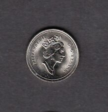 F73 CANADA 5c COIN 1991 BRILLIANT UNCIRCULATED - $10.00