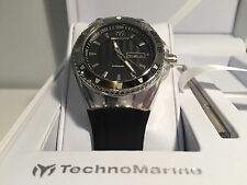New - Reloj Watch TECHNOMARINE Cruise Black 40 mm Ref. 110042 - Box & Papers