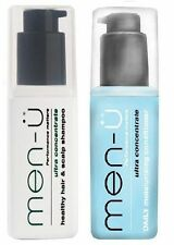 MEN-U HEALTHY HAIR AND SCALP SHAMPOO & DAILY MOISTURISING CONDITIONER 100ML DUO