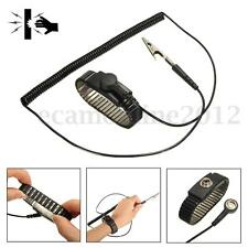 Anti Static Metal ESD Adjustable Wrist Strap Discharge Band Ground Bracelet Ring