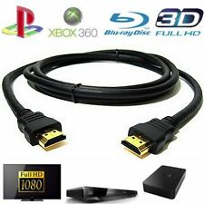cable HDMI FULL HD 4K 3D BLU RAY PS4 XBOX 1.4 LCD PC 1920x1080P 5M