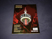 2016 NBA All Star Basketball Official Program Toronto Ontario Canada Magazine