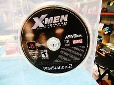 X-Men Legends II 2: Rise of Apocalypse (Sony Playstation 2, 2005) Disc Only