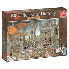 JUMBO 19202 PIECES OF HISTORY - THE CASTLE 1000PCS PUZZLE / JIGSAW BRAND NEW