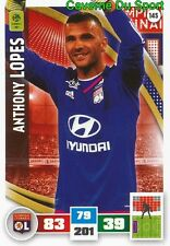 145 ANTHONY LOPES PORTUGAL OLYMPIQUE LYONNAIS CARD ADRENALYN LIGUE 1 2017 PANINI