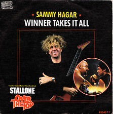 SAMMY HAGAR-WINNER TAKES IT ALL SINGLE VINILO 1987 (OST OVER THE TOP) PROMOCIONA