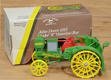 Ertl JOHN DEERE 1915 Model R Waterloo Boy Steel Wheel Tractor 1:16 Diecast 1988