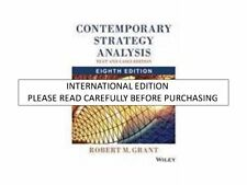 Contemporary Strategy Analysis with Access Code : Text and Cases by Robert M....