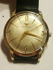 Vintage WITTNAUER by LONGINES, Gold Filled, Manual wind mens watch