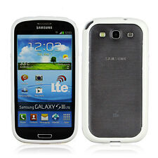 TPU Bumper Protective Frame Case Cover for Samsung Galaxy S3 Mini I8190 White