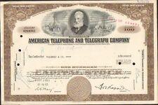 DECO => AMERICAN TELEPHONE & TELEGRAPHE Cy, 100 (USA) (I)
