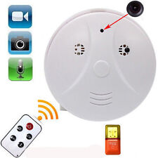 Mini SPY Hidden HD DVR Camera Smoke Detector Motion Detection Video Recorder DE