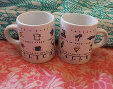 Lot of 2 SILICON VALLEY Small Mug Cup Luke-A-Tuke
