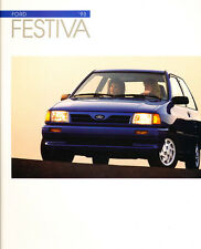1993 Ford Festiva Original Car Sales Brochure Catalog - Kia