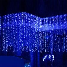 Azul 20M 200 LED lucesde secuencia de Navidad Decoración de hadas ambiente bueno