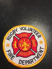 Rugby Volunteer Fire Department Patch